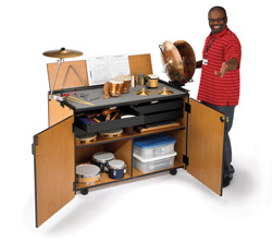 Percussion Workstation from Wenger Australia - Performance staging specialists